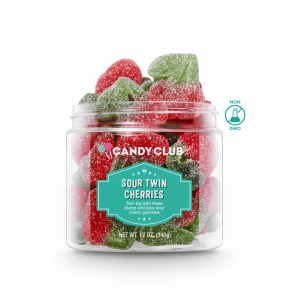 Candy Club Large Cup | Sour Twin Cherries