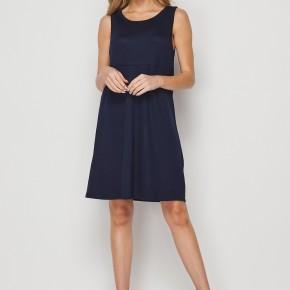 HoneyMe Simply THE Best Sleeveless Navy Dress
