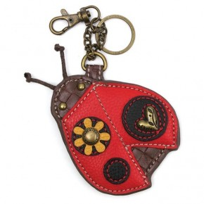 Chala - Ladybug - Key Fob/Coin Purse