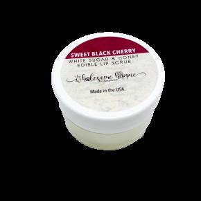 Sugar and Honey Edible Lip Scrub - Sweet Black Cherry