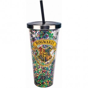 Hogwarts Large Tumbler with Straw