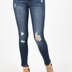 Kancan Gemma Mid Rise Super Skinny Jeans