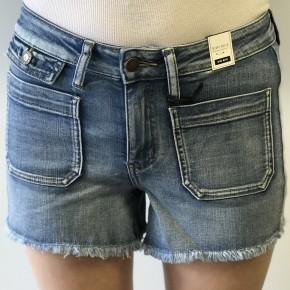 Judy Blue Patch Pocket Shorts