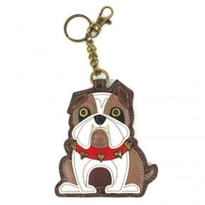 Chala - Bulldog - Key Fob/Coin Purse