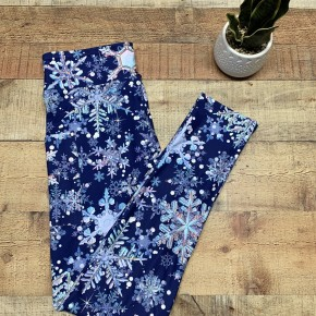 Snowflake Kids Leggings
