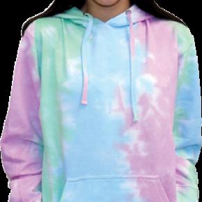 Seafoam/Aqua/Pink Tie Dye Hoodie