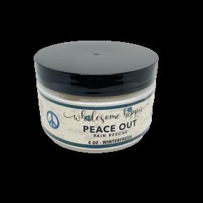 4oz Peace Out Pain Rescue Winterfresh - 250