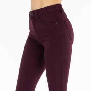 Kancan Gemma High Rise Burgundy Skinny Jeans