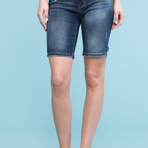 Judy Blue Dark Wash Relaxed Bermuda