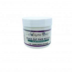 2oz Extra Strength Peace Out Pain Rescue Winterfresh - 500