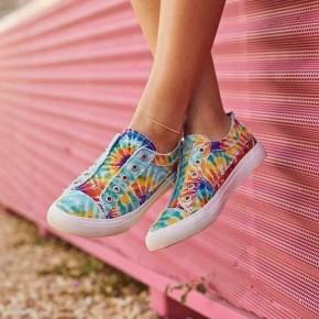 Blowfish Slip On Rainbow Tie Dye - Play