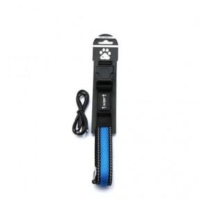 Blue LED Light Up Pet Collar | SAFE & VISIBLE