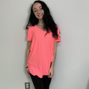 HoneyMe Brushed DTY  Victoria in Neon Pink