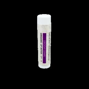 Organic Lip Butter - Groovy Grape SPF15
