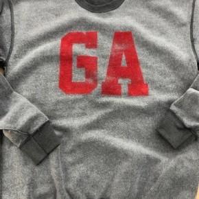 GA Inverted Graphic Sweatshirt