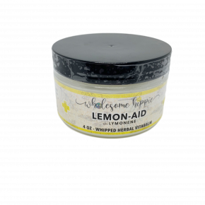 4oz Lemon-Aid Whipped Herbal Vitabalm with Limonene