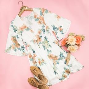 Springtide Floral Dress