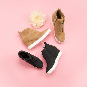 Fall Zoey Wedge Sneaker