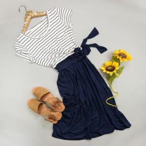 Love My Navy Dress