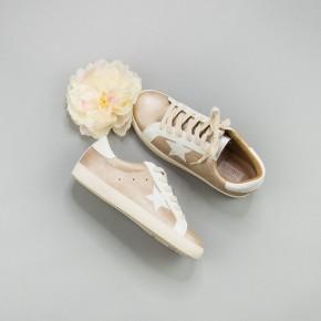 Rose Gold Star Sneakers