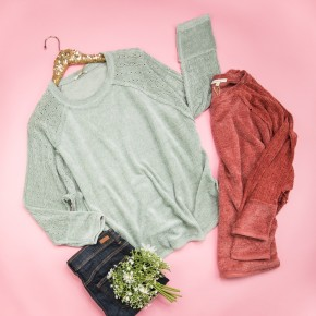 Sweet Chenille Top *all sales final*