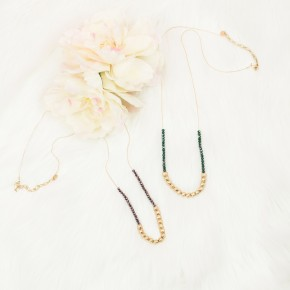 Beaded Simplicity Necklace