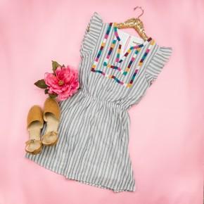 Savanna Jane Flutter Dress