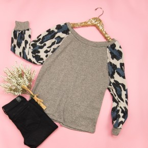 Flashy Staple Top *ALL SALES FINAL*