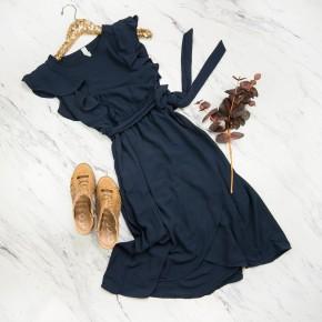 Elegant Navy Dress *all sales final*