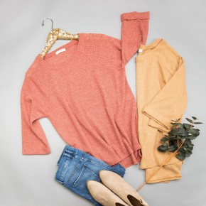 Relaxed Thermal Tee *ALL SALES FINAL*