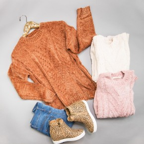 Chenille Textured Sweater