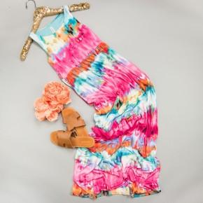 Ocean Tie Dye Dress