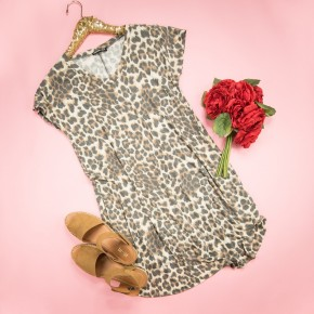 Easy Going Leopard Dress