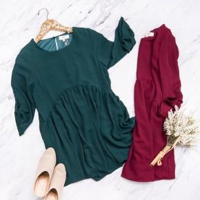 Sweet Peplum Dress