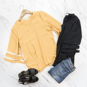 HAPPY HOUR // Working Girl's Edition Top *all sales final*