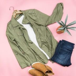 Multi-Style Sage Jacket *ALL SALES FINAL*