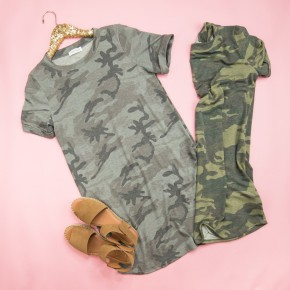 Updated Famous Camo Dress