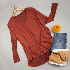 Cozy Rustic Tunic *ALL SALES FINAL*