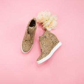Spotty Dot Zoey Wedge Sneaker