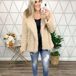Teddy Bear Fur Jacket