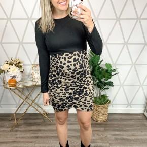 Leopard Blogger Style Dress