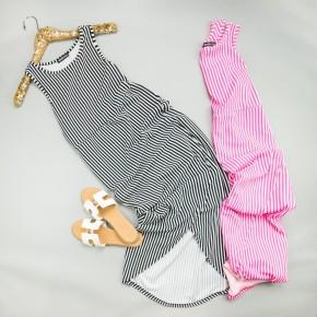 Striped Layover Dress