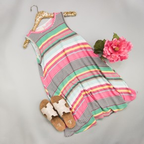 Rainbow of Spring Dress