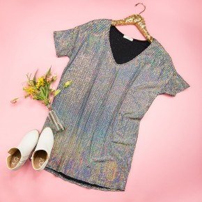 Sassy Sequin Dress