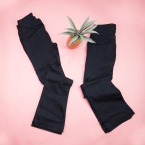 Dark Denim Micro Banded Jeans