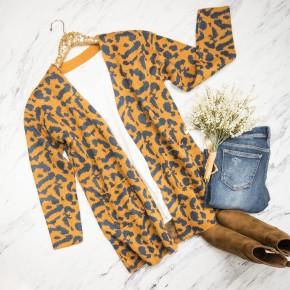 Leopard Lady Cardigan