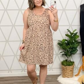 Fancy Leopard Dress