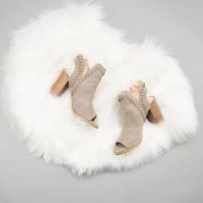 Hazel Taupe Heel