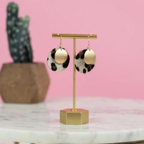 Leopard Statement Earrings *all sales final*