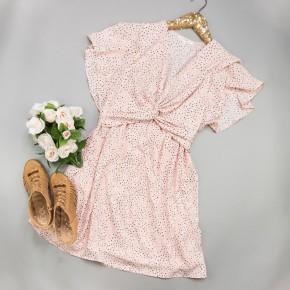 Blush Twist Dress